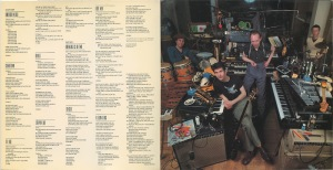 Joe Jackson 1982 Night and Day inner sleeve